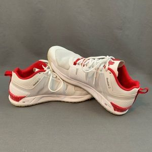 585f1b4bfe27 Reebok Shoes - Reebok JJ Watt White Red Cross Trainer Shoes 10.5